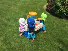 We LOVE our water table.