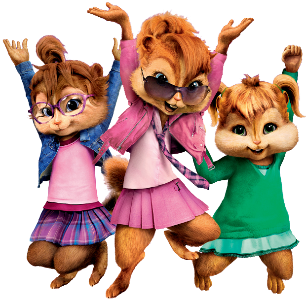What are the three chipettes names